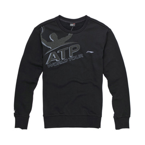 Li-ning Tennis Sweater:2013 Tennis series,men long-sleeve Sweater,Li-ning AWDH067