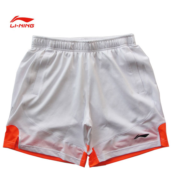 men badminton Shorts:2013 All England Open,Badminton Tournaments pants,li-ning AAPH059