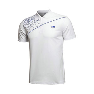 mens  tournament Jersey: 2013 Indoor Top Table Tennis and badminton POLO shirts,Lining APLH209