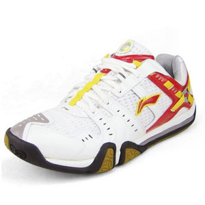 Ladies Badminton shoes: Affixed to the ground badminton tournament shoes,Li ning AYAF012