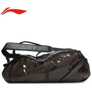 li-ning badminton bag: 2013 new 6 loaded racket bag,Waterproof insulated,Lining ABJH068
