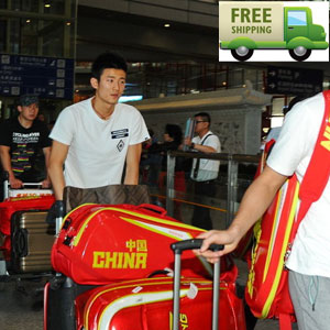 li-ning 9 racket badminton bag:August 2013 World Championships badminton bag,Lining ABJH064