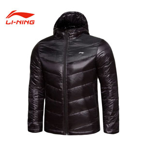 Men Down Jacket 2013 Li-Ning ATProof Wind Leisure Style Down Jacket Lining AYMG143