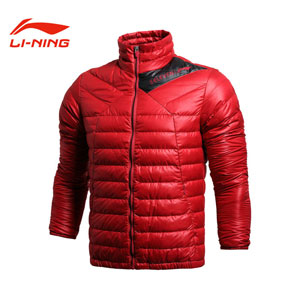 Men Down Jacket 2013 Li-Ning ATProof Wind Football Down Jacket Lining AYMH005