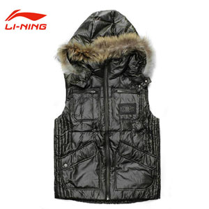 Badminton Down Sleeveless  Men Down Jacket Lin Dan Badminton Vest Li-ning AMRF005