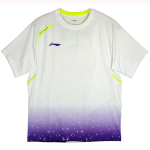 Women Badminton Tshirt Nov 2013 Shanghai Open Tournaments Jersey Li-ning AAYH244