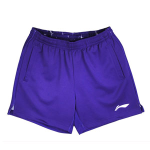 Men Badminton Shorts Nov 2013 Lining Shanghai Open Tournaments Shorts Li-ning AAPH413