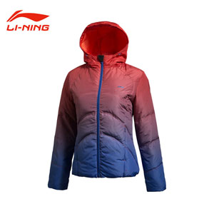 Li-Ning Down Jacket 2013 Women Tennis Short Down Jacket Lining AYMH038