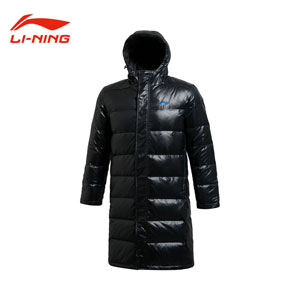 Long Down Jacket Winter 2013 Li-ning Men Down Jacket Lining AYMH031