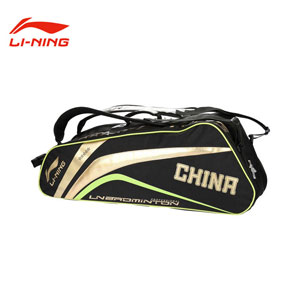 Li-ning Badminton Bag 6 Loaded Racket Badminton Bag Lining ABJH012