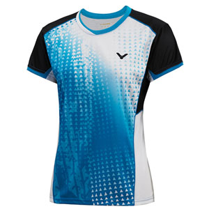 Women VICTOR Jersey 2014 Ladies Tournament Badminton Tshirt VICTOR T-4103