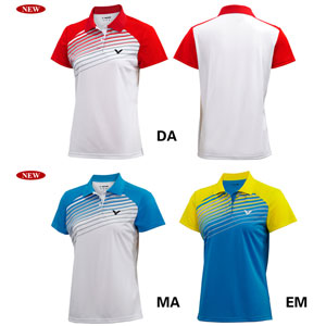 Women VICTOR T-Shirt 2014 Knit Ladies Badminton Jersey VICTOR S-4110