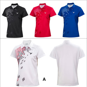 Women VICTOR T-Shirt 2014 Knit Ladies Badminton Jersey VICTOR S-4109