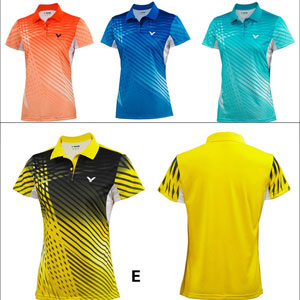 Women VICTOR T-Shirt 2014 Professional Ladies Badminton Jersey VICTOR S-4108