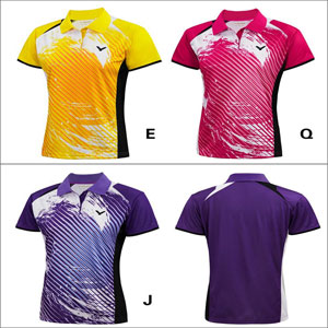 Women VICTOR T-Shirt 2014 Ladies Tournament Badminton Jersey VICTOR S-4106