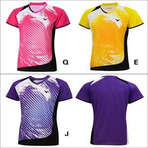 Women VICTOR Jersey 2014 Ladies Tournament Badminton Tshirt VICTOR T-4105