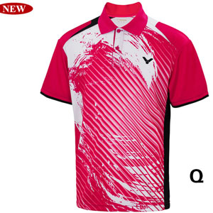 Men Badminton Jersey 2014 Victor Tournament Badminton T-shirt Victor S-4006