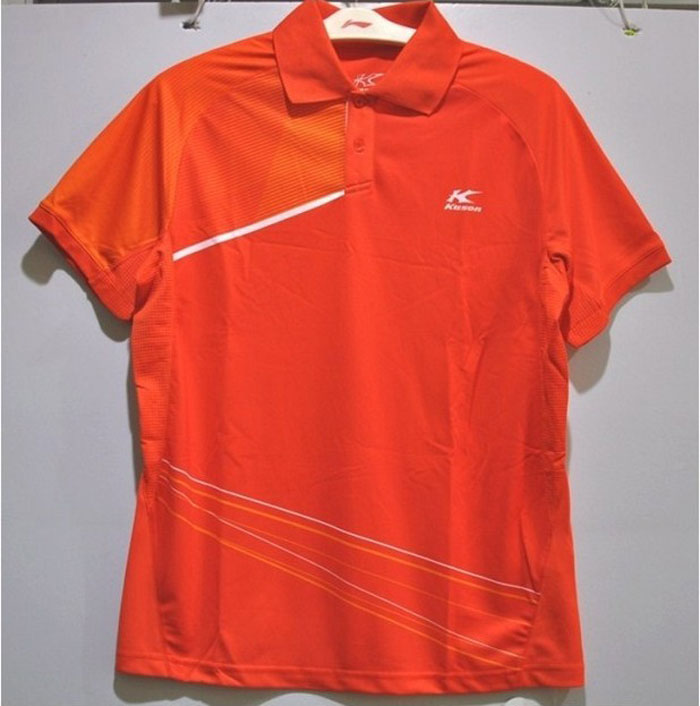 Kason Badminton Tshirt 2014 Men Tournaments Badminton Jersey Kason FAYJ001-3/-4