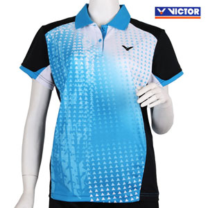 Women VICTOR T-Shirt 2014 Ladies Tournament Badminton Jersey VICTOR S-4104