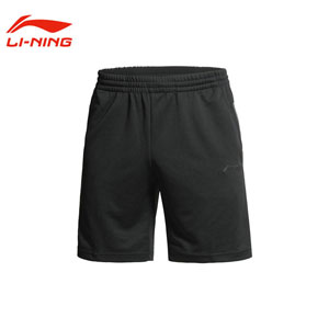 Men Tennis Shorts 2014 Lining Black Sports Shorts Li-Ning AKSH067-2
