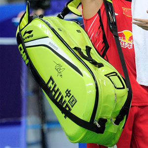 li-ning 9 racket badminton bag CP badminton tournament bag limited edition Lin Dan