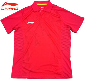 Men Table Tennis T-shirts Li-Ning 2014 Table Tennis National Team Jerseys Li-ning AAYJ073-2
