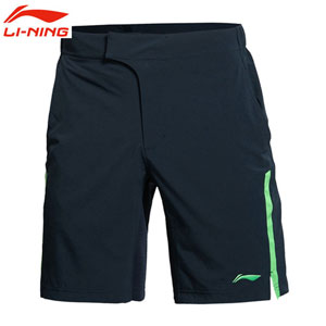 Marin Cilic Tennis Shorts 2014 Li Ning Tennis Mens Competition Pants Lining AAPJ113-1