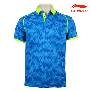 Men Badminton Tshirts  Lining Tournament Badminton Jersey Li ning AAYJ299-2