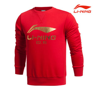 Li Ning Sports Lifestyle men´s pullover sweater no cap Lining AWDJ121-1-2