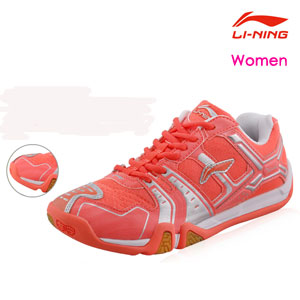 Li-ning Badminton shoes: August 2014 Women Badminton Professional Shoes, Li ning AYTJ058