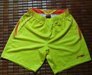 Li-Ning London Olympics Badminton Shorts Lining Men Badminton Competition Shorts Lining CP