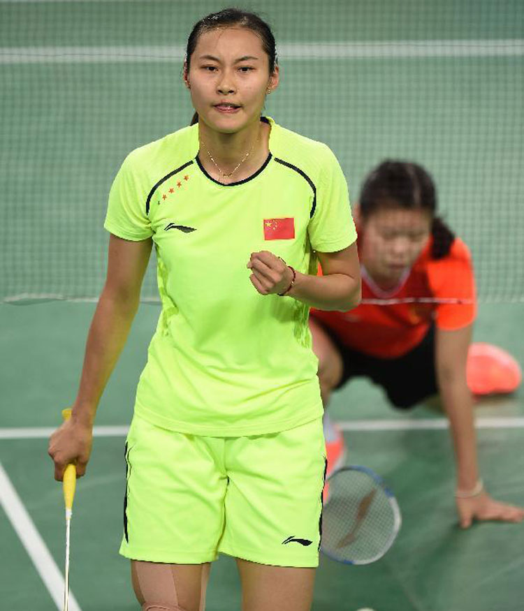 Women Badminton Shorts October Lining INCHEON 2014 Asian Games Badminton Shorts AAPJ374-1-2