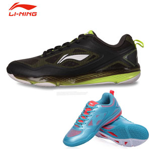 Men Badminton shoes 2014 October Lining Badminton Profession Shoes Li-ning AYTJ077-3