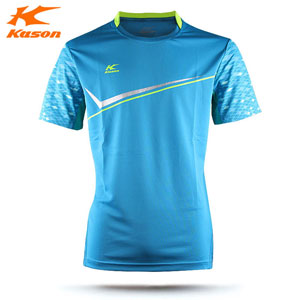 Kason Badminton T-shirt, 2015 Men Quick-drying shirt badminton tournament, Kason FAYK013