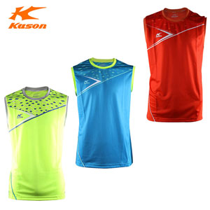 Kason Badminton sleeveless, 2015 Mens Quick-drying vest Badminton, Kason FVSK001
