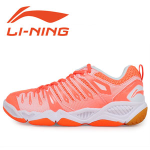 Li-Ning Badminton Shoes 2015 Women Training Badminton Shoes TD, Lining AYAJ028