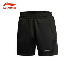 Li-ning Badminton Shorts 2015 Men Badminton Tournament shorts DRY Lining AAPK083