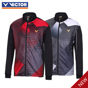 Men Badminton Jacket: 2015 Victor Badminton Tournament Single Layer Jacket, Victor J-5065