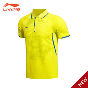 Table Tennis T-shirt: 2015 Li Ning Men Table Tennis Ping-pong Tournament Jersey, Li-ning AAYK315-1