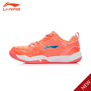 Women Badminton Shoes 2015 Li-Ning Badminton Training Shoes Li-ning AYTK022