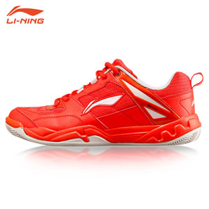 Ladies Badminton Shoes: 2015 Lining Badminton Training Shoes, Li-Ning AYTK056