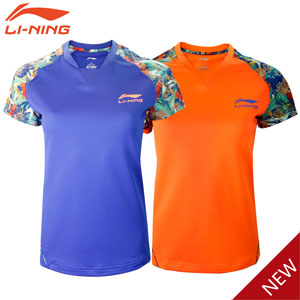 Women Table Tennis Tshirt: 2015 Li-Ning China Table Tennis Super League Jerseys, Lining AAYK266
