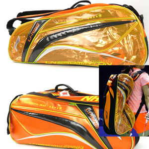 Lining Badminton Bag, 2015 Sudirman Cup Handbag shoulder bag badminton tournament 6 racket, ABJK032