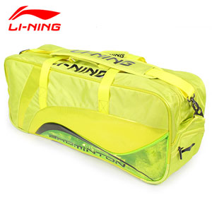 Lining Badminton Bag 2014 Li-Ning Tournament 9 Racket Feng Yun Badminton Bag ABJJ112-1-2