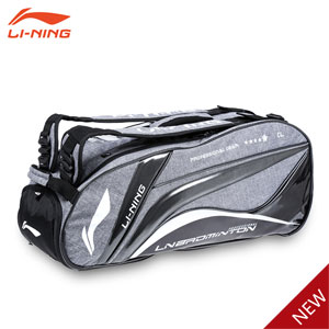 Li-ning Badminton Bag 2015 Chen Long 6 Badminton Racket Bag Backpack Li ning ABJK038