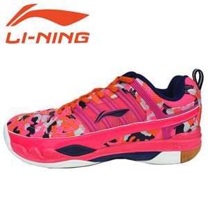 Women Badminton Shoes 2015 Li-Ning Limited edition Professional Badminton Shoes AYAK018