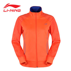 Li-Ning Badminton Jacket 2015 Women Training jackets quick drying Li-ning AWDK554