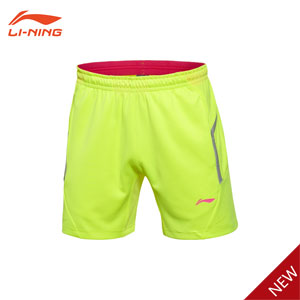 Li-Ning 2016 First half of the international competitions Men Badminton Shorts, Lining AAPL029