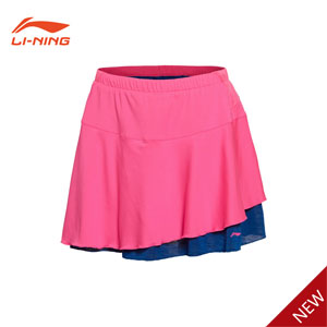 Li-Ning 2016 First half of the international competitions Women Badminton Shorts Skirt, Lining ASKL034