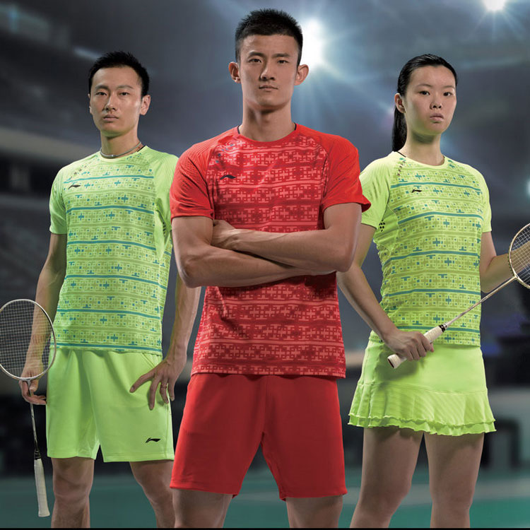 Men Badminton Shorts: 2016 Li-Ning All England Badminton Tournament Shorts, Lining AAPL007
